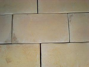 Terres cuites naturelles forme rectangle moul main for Carrelage rectangle