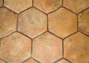 Terres cuites naturelles tomette hexagonale salernes for Carrelage hexagonal couleur